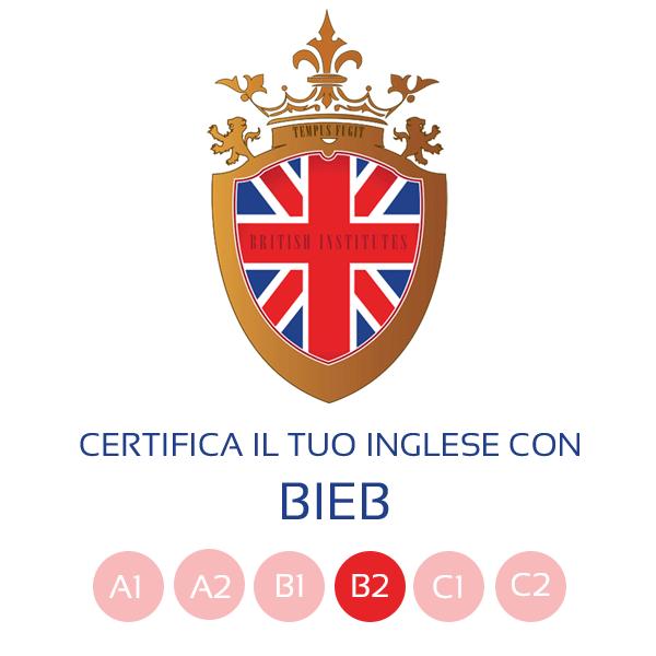 Sessione esame B2 lingua inglese BIEB