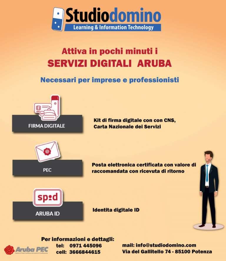 I Servizi Digitali necessari per i Professionisti e le Imprese